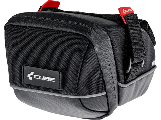 Cube Pro Seat Post Bag M, black
